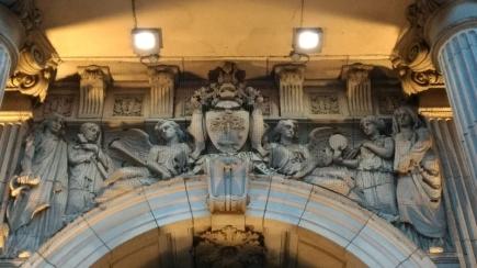Fachada da prefeitura de Glasgow